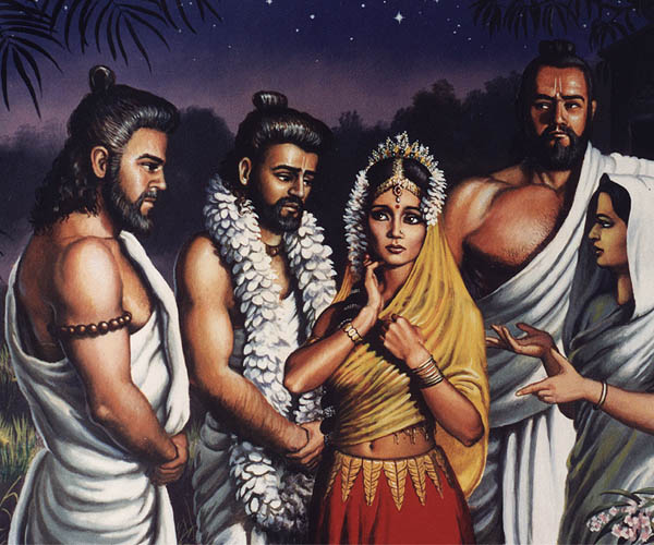Thes Knew Were Aware Of Draupadis Future Humiliation Disrobing Incident So If Draupadi Was Married To Only One Pandava It Wouldnt Give Rise To The